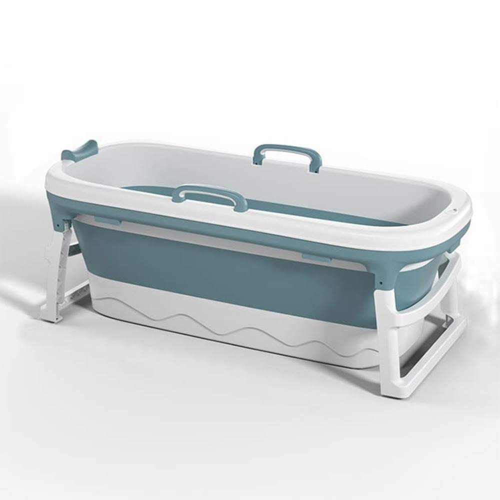 Banheira Desmontável Baby Pil Extra Grande Azul  - Encanto Baby
