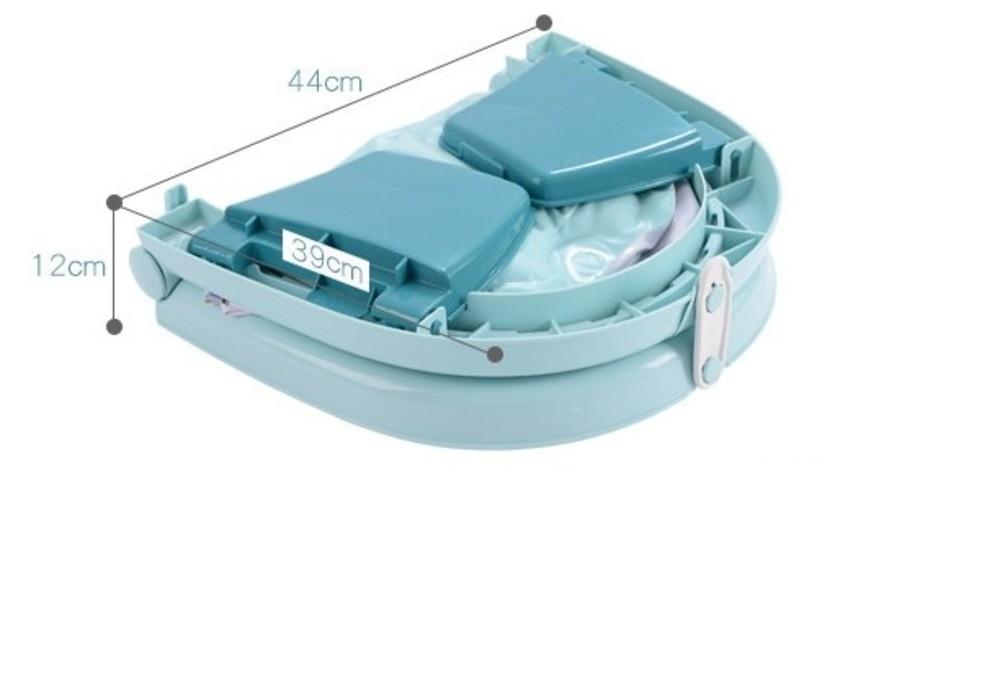 Banheira Para Bebê Dobrável Inflável Portátil Color Baby  - Encanto Baby
