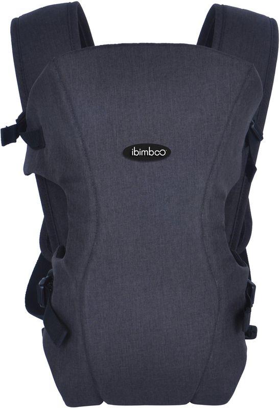 Bebê Canguru Ibimboo Tecido 3 Em 1 Azul Marinho