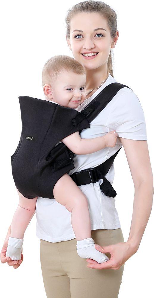 Bebê Canguru Ibimboo Tecido 3 Em 1 Azul Marinho  - Encanto Baby