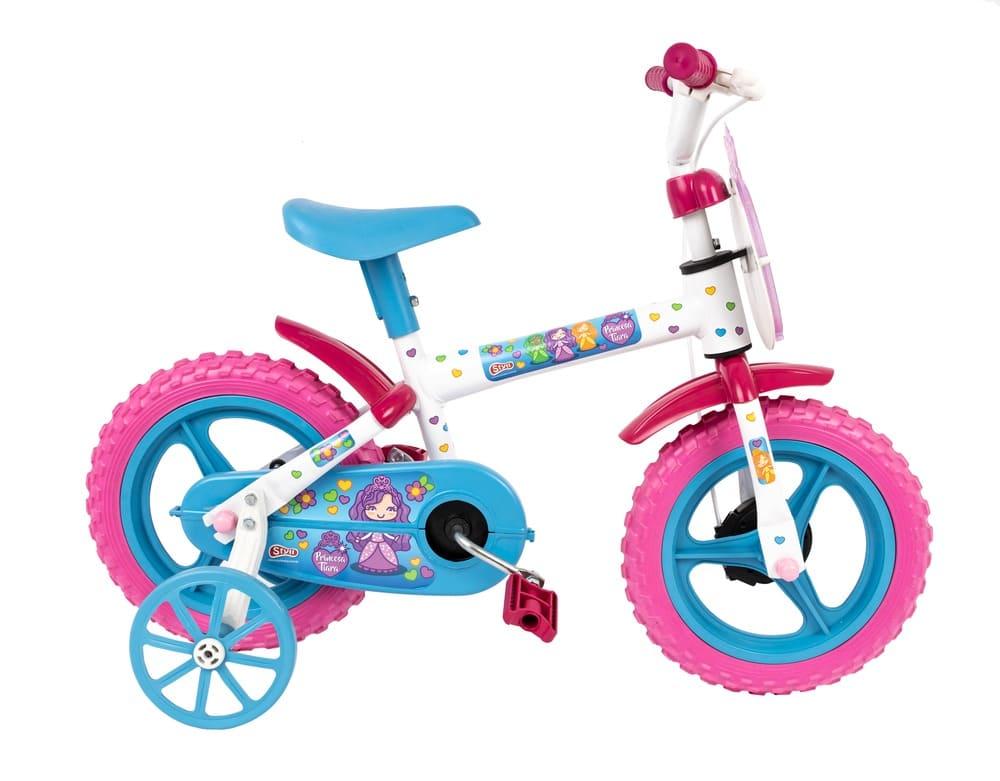 Bicicleta Infantil Aro 12 Princesinha Tiara Styll Kids  - Encanto Baby