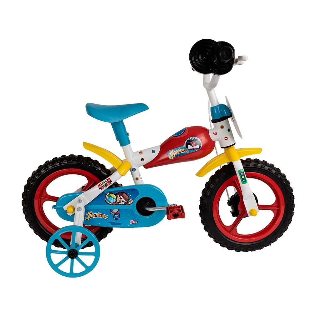 Bicicleta Infantil Aro 12 Senninha Styll Kids  - Encanto Baby