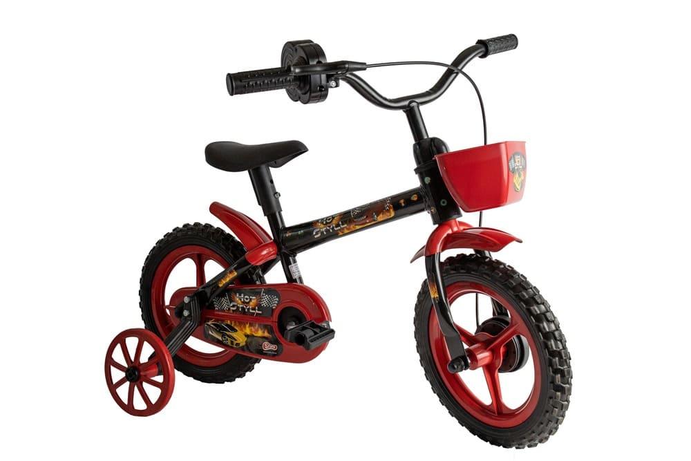 Bicicleta Infantil Styll Kids Hot Aro 12