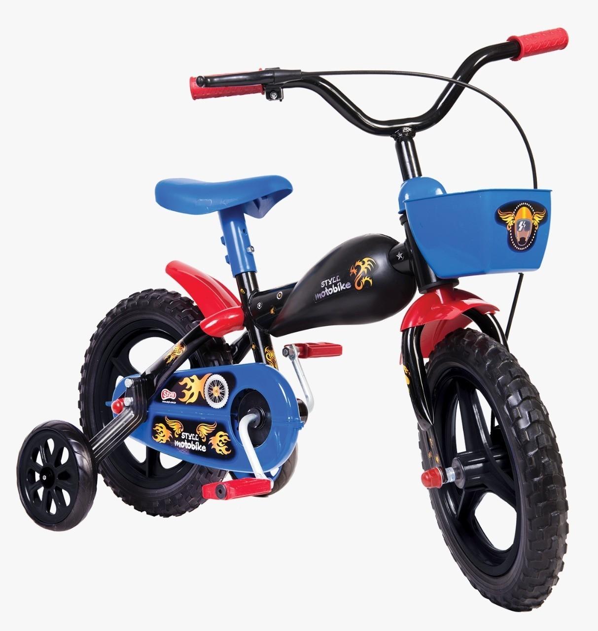 Bicicleta Infantil Styll Kids Moto Bike Aro 12