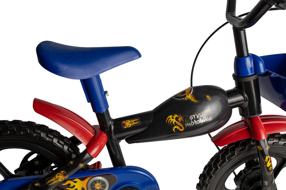 Bicicleta Infantil Styll Kids Moto Bike Aro 12  - Encanto Baby