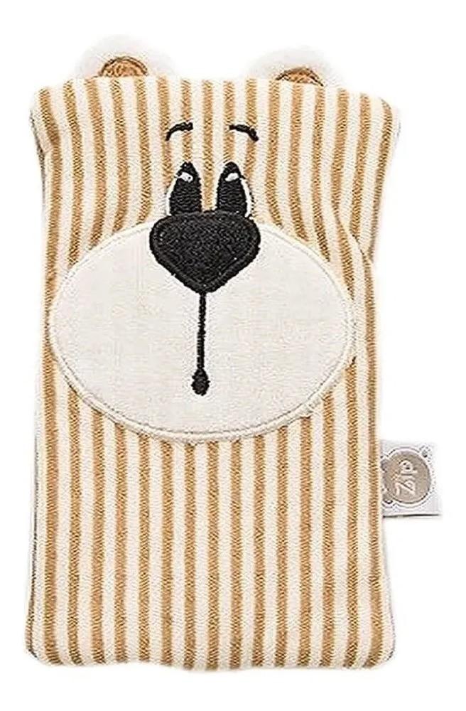 Bolsa Térmica Para Cólica Do Bebê Carinhas Zip Toys