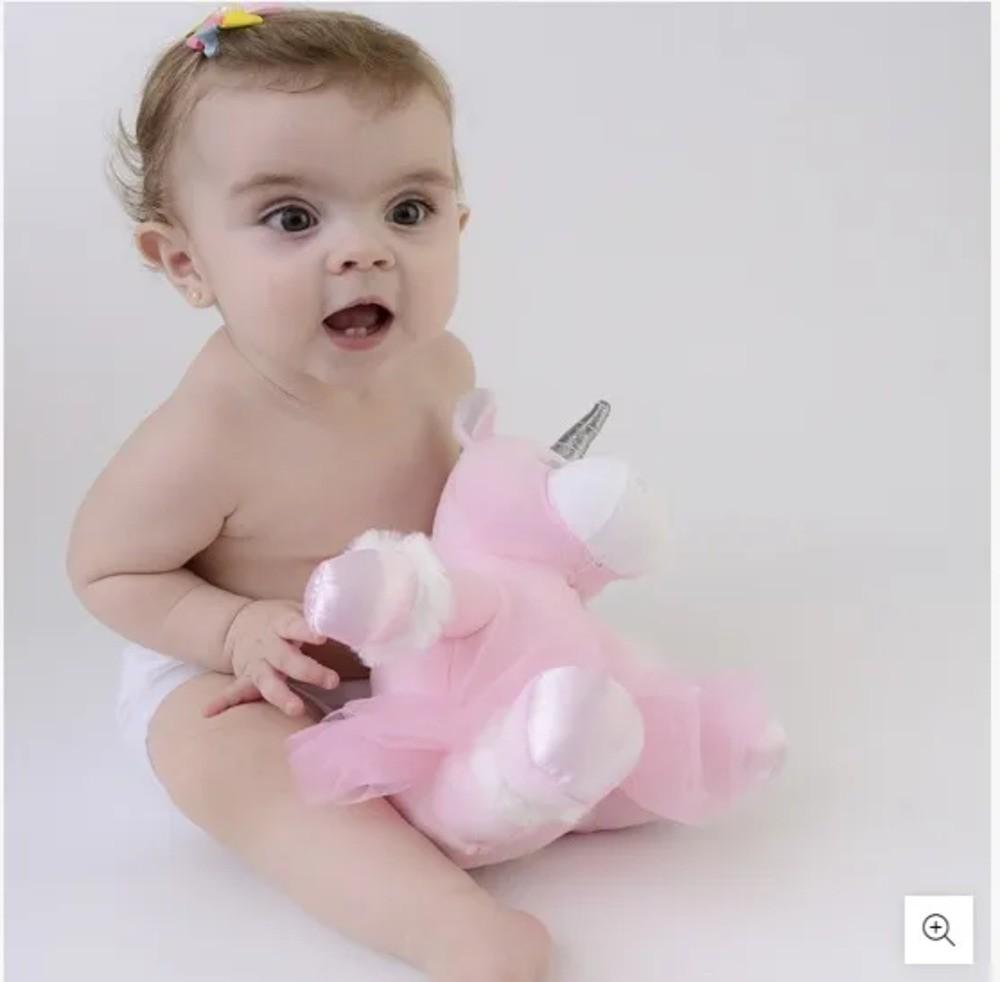 Boneca Bonequinha Pelúcia Unicórnio Zip Toys  - Encanto Baby
