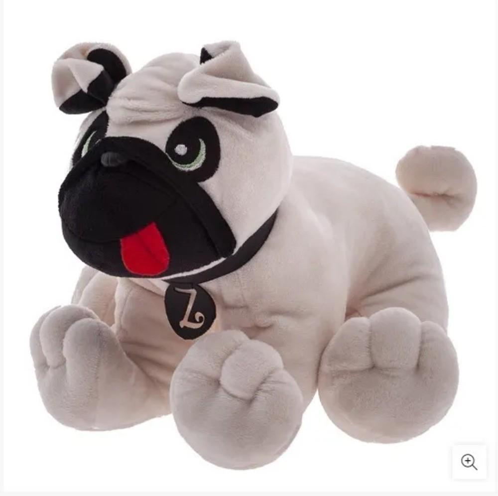 Boneco Bonequinho Pelúcia Pug Zé Zip Toys