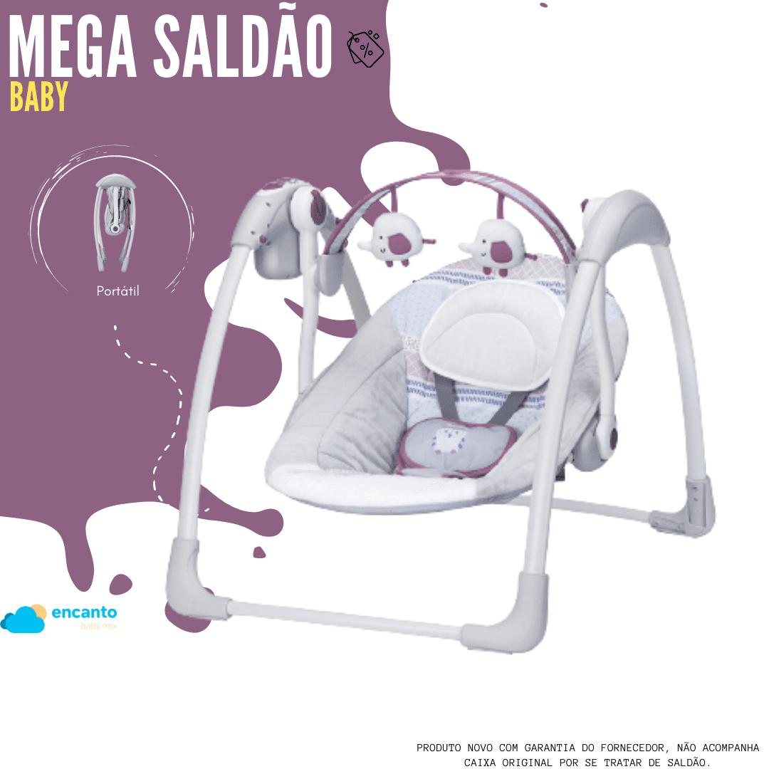 Cadeira Automática Premium Balanço Com Fonte Plush Toys