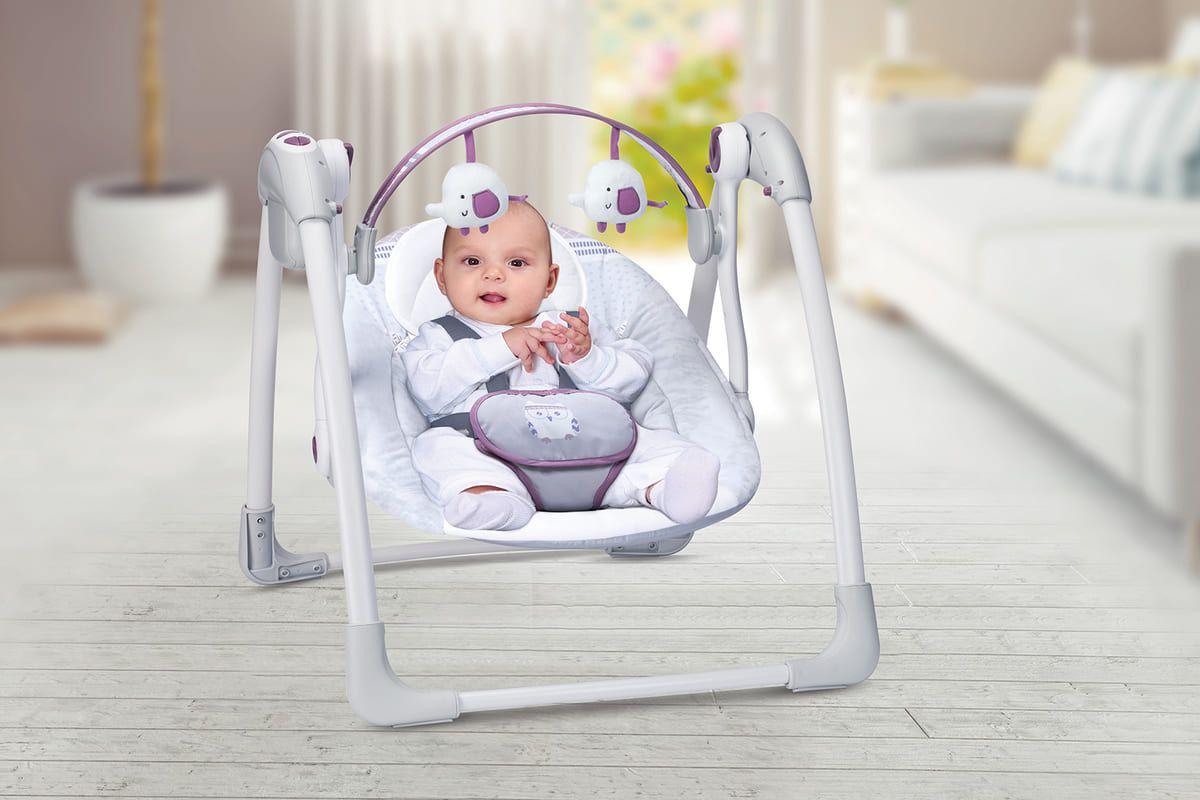 Cadeira Automática Premium Balanço Com Fonte Plush Toys  - Encanto Baby