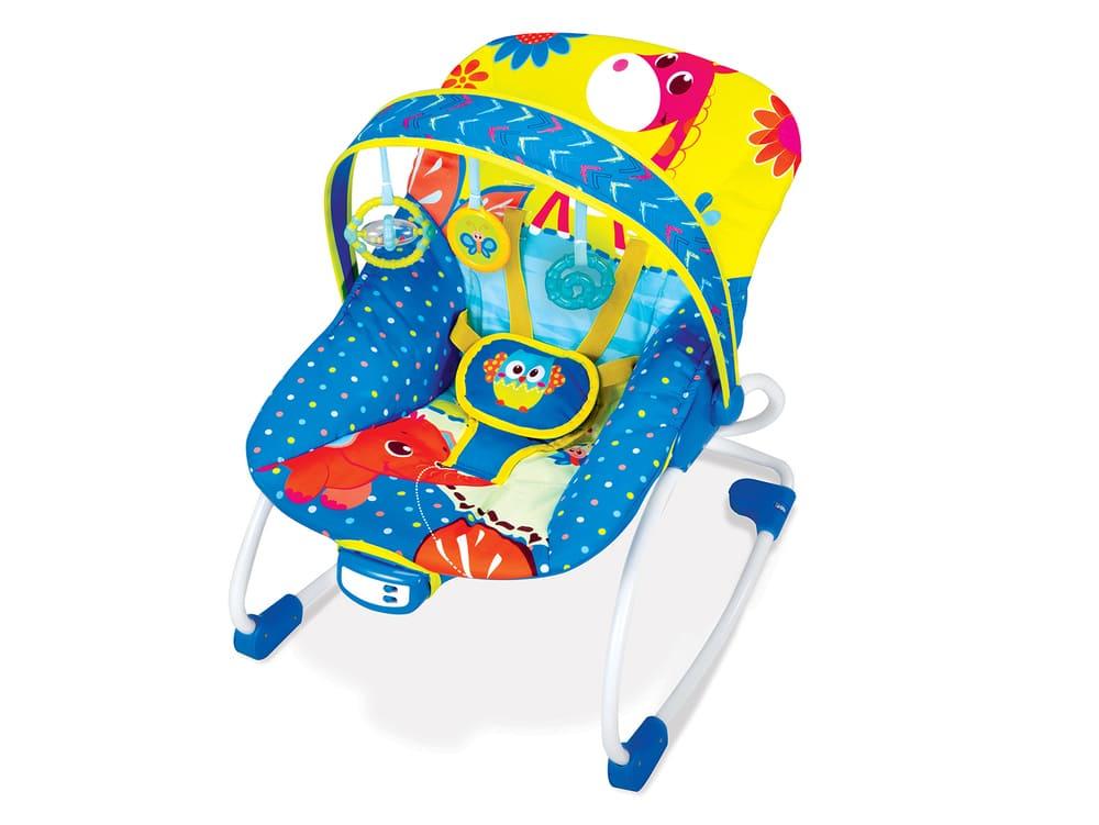 Cadeira Balanço Musical Vibratória Mastela Rocker Até 18kg  - Encanto Baby