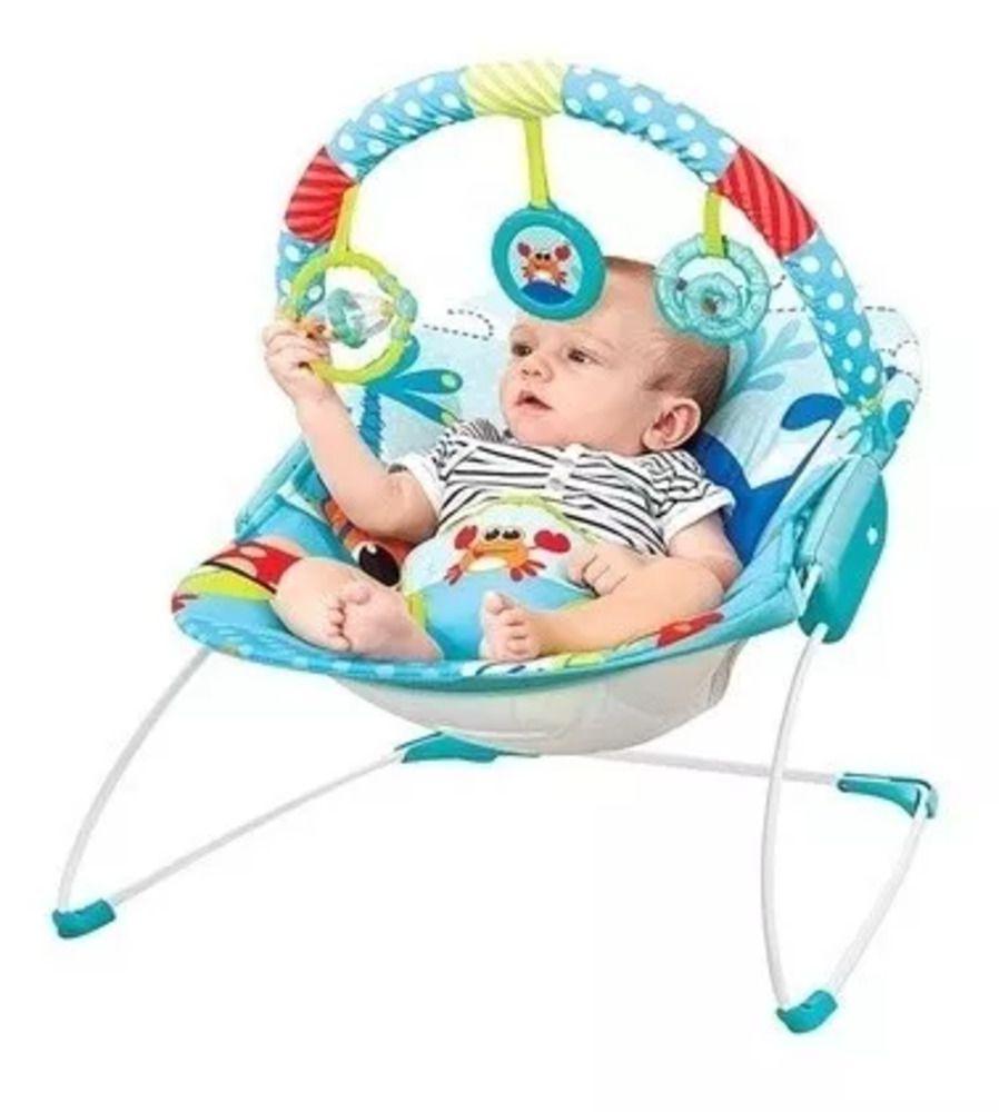 Cadeira Mastela De Descanso Musical Vibratória