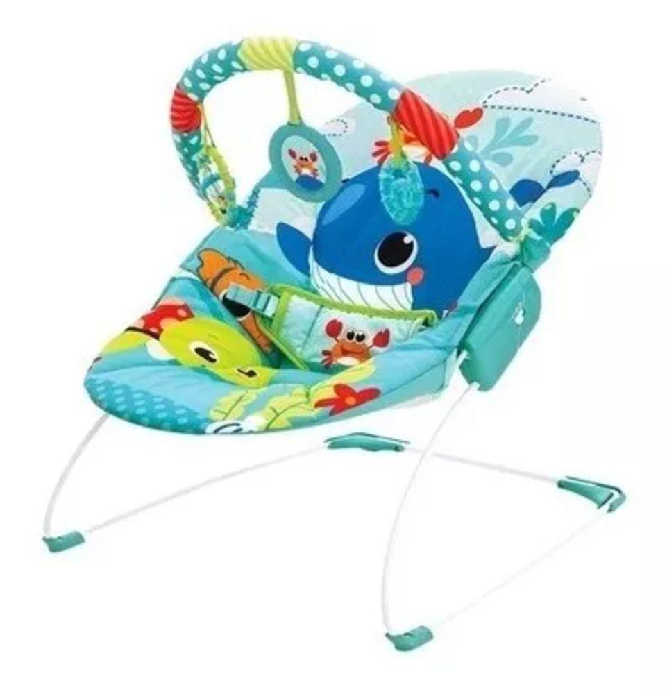 Cadeira Mastela De Descanso Musical Vibratória  - Encanto Baby