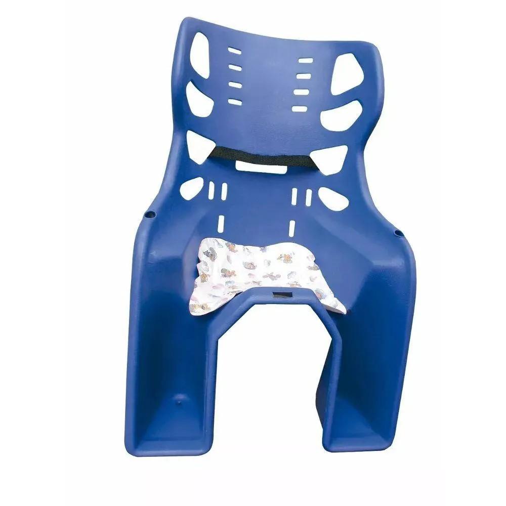 Cadeira Carona Traseira Bicicleta Azul Bic