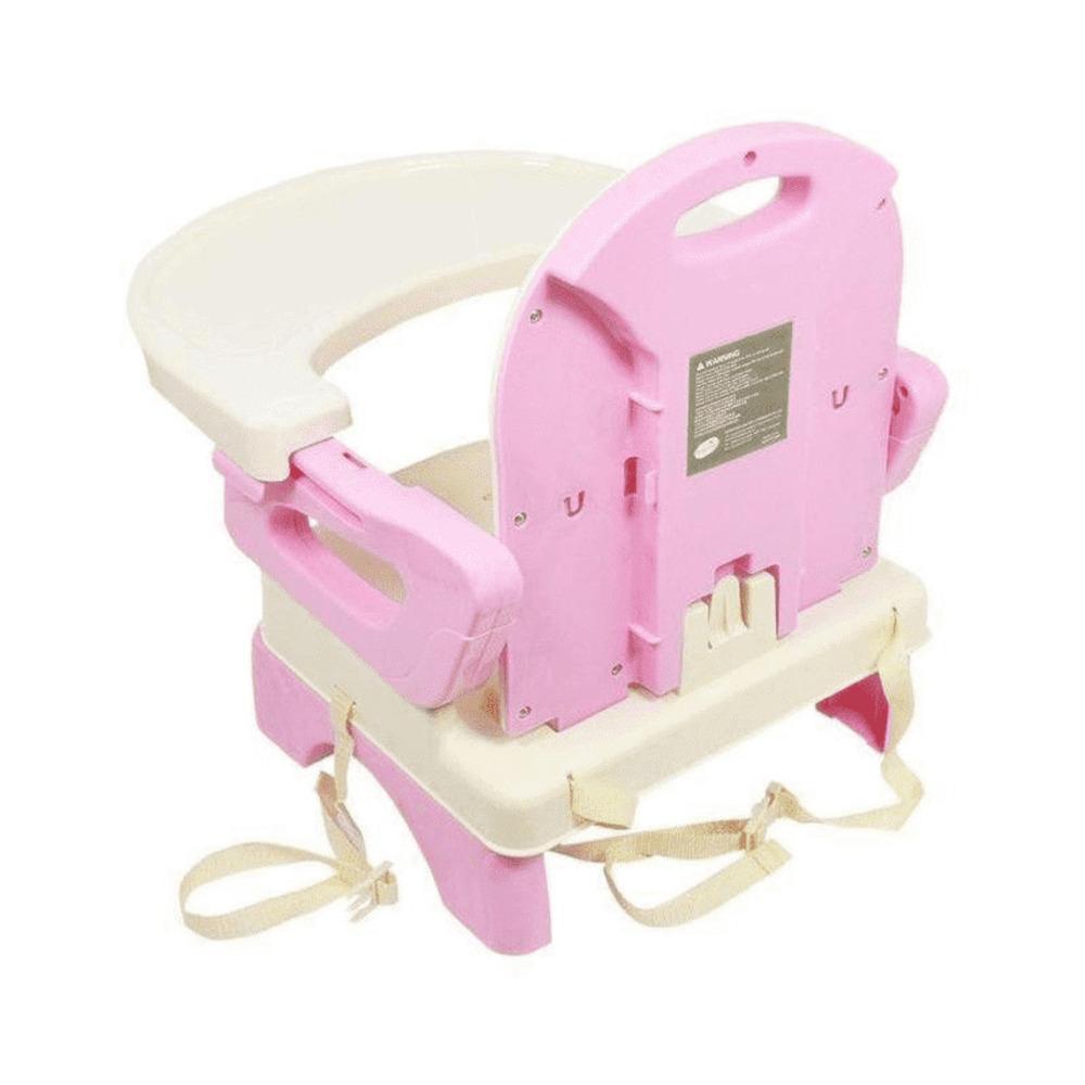 Cadeira De Alimentação Portátil e Flexível Rosa Mastela  - Encanto Baby