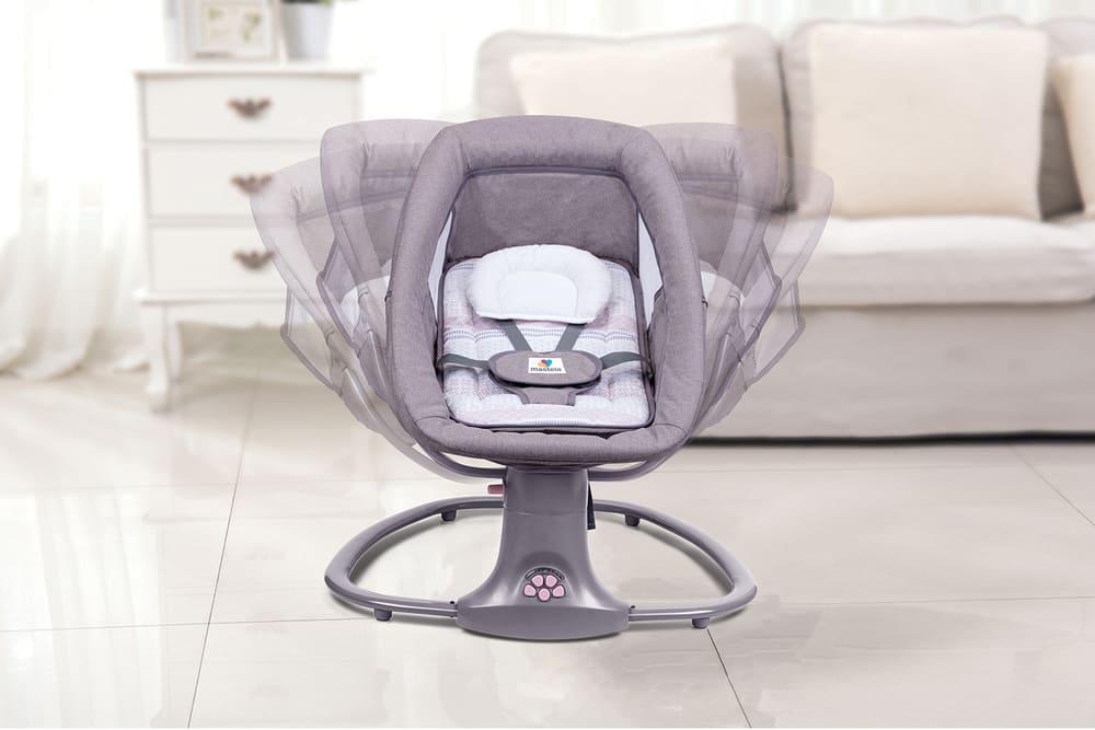 Cadeira De Balanço Automático Musical Com Bluetooth até 18kg 3 Em 1 Mastela  - Encanto Baby