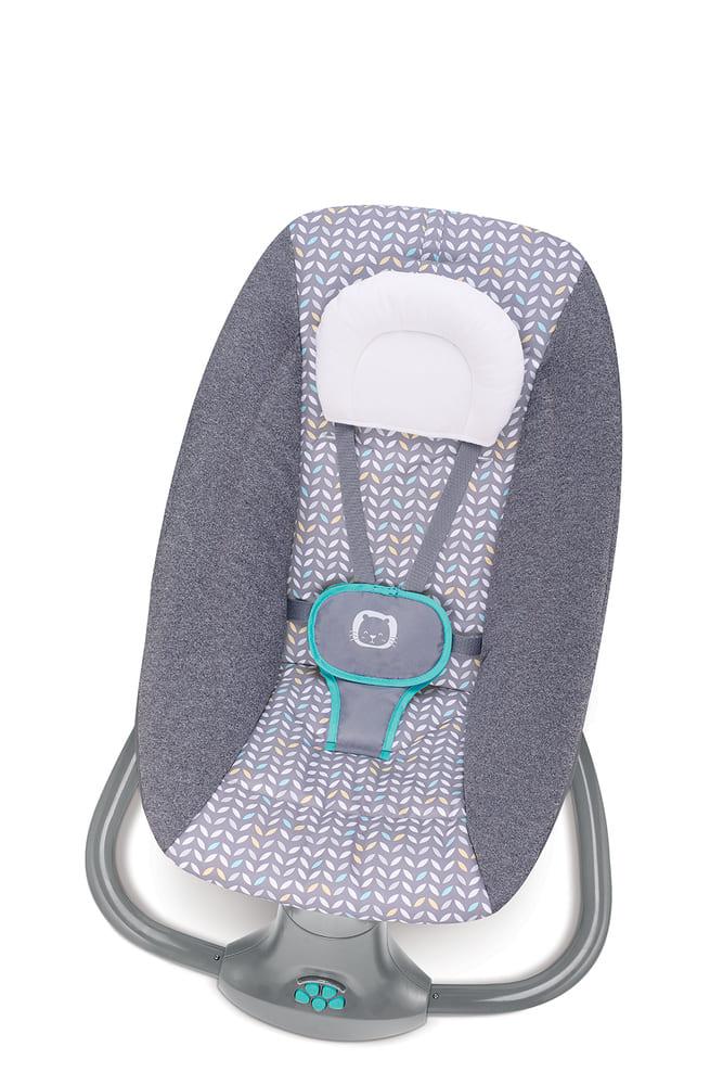 Cadeira De Balanço Automático Musical Com Bluetooth até 18kg 3 Em 1 Mastela Light Verde  - Encanto Baby
