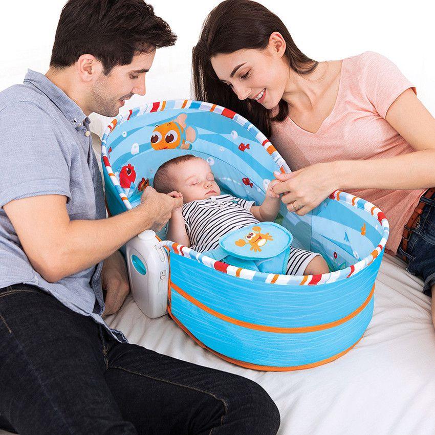 Cadeira De Balanço E Descanso Moisés Mastela 5 Em 1 Azul  - Encanto Baby