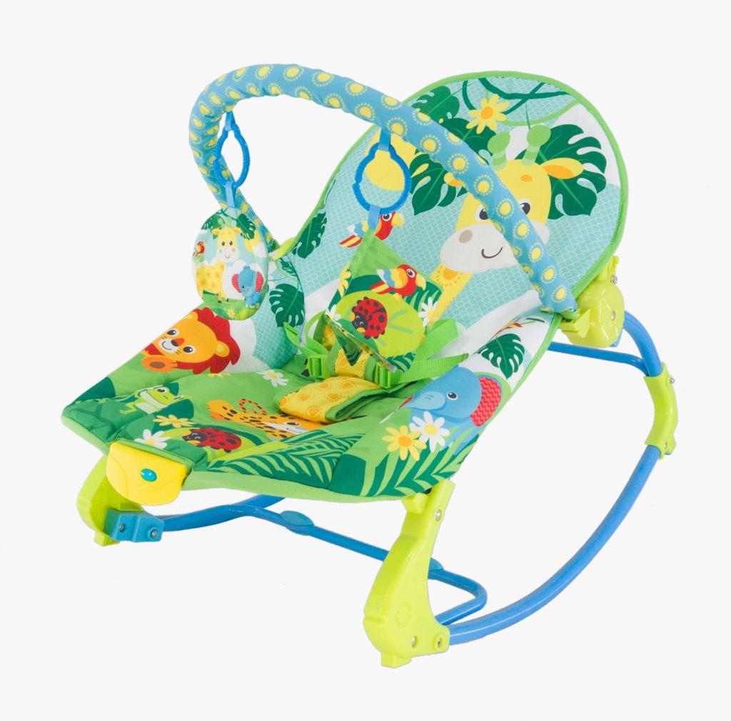 Cadeira De Balanço Musical E Vibratória Color Baby 18kg Girafa