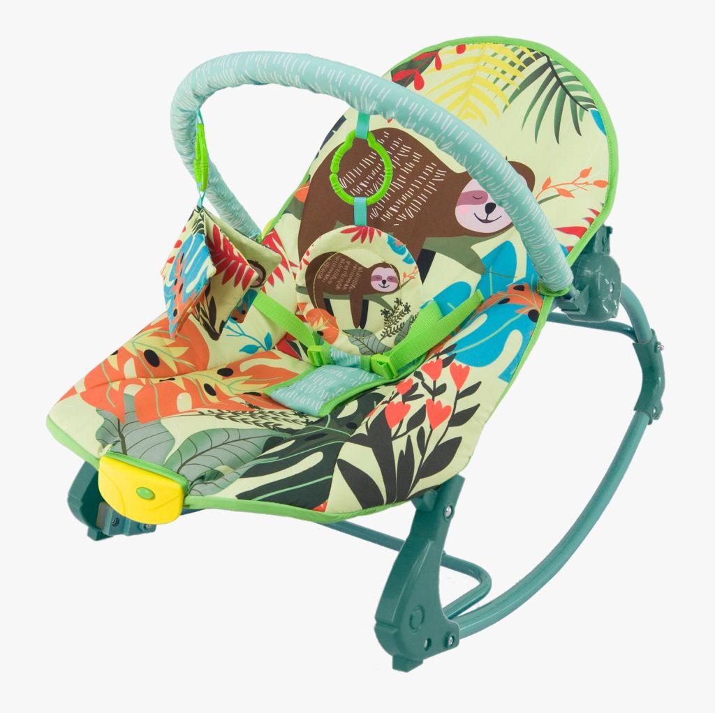Cadeira De Balanço Musical E Vibratória Color Baby 18kg Selva