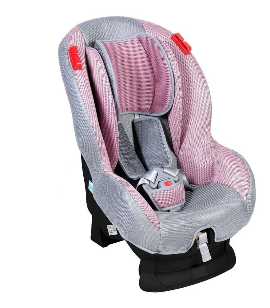 Cadeira de Carro Cinza Rosa Styll Baby