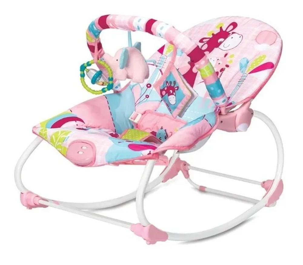 Cadeira De Descanso E Balanço Até 18kg Vibratória E Musical  - Encanto Baby