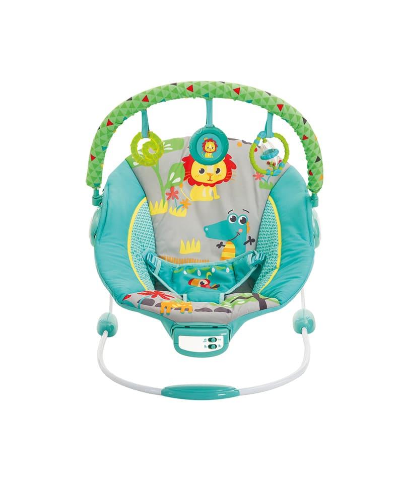 Cadeira De Descanso Musical Vibratória Sunset Mastela Azul  - Encanto Baby