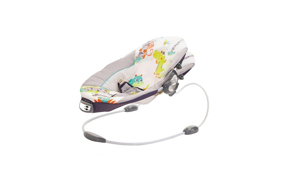 Cadeira De Descanso Musical Vibratória Sunset Mastela  Cinza  - Encanto Baby