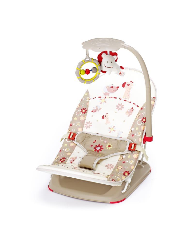 Cadeira Descanso Portátil Com Móbile Voyage até 11kg Mastela  - Encanto Baby