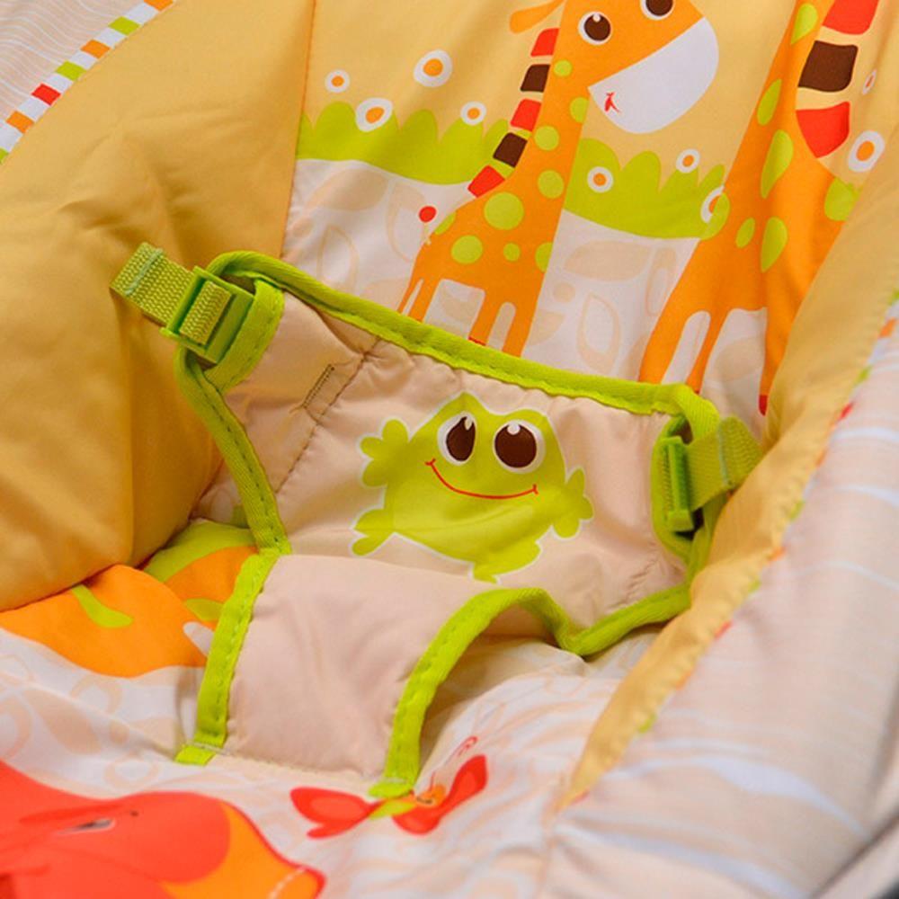 Cadeira Musical De Descanso Reclinável Vibratória até 11kg Mastela  - Encanto Baby