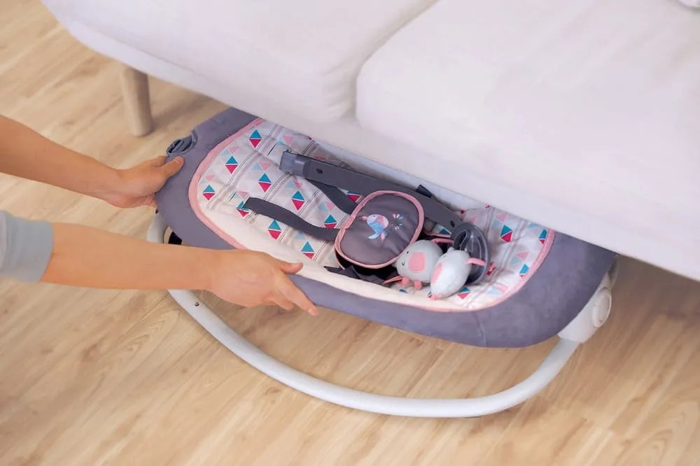 Cadeira Musical Dobrável Vibratória  - Encanto Baby