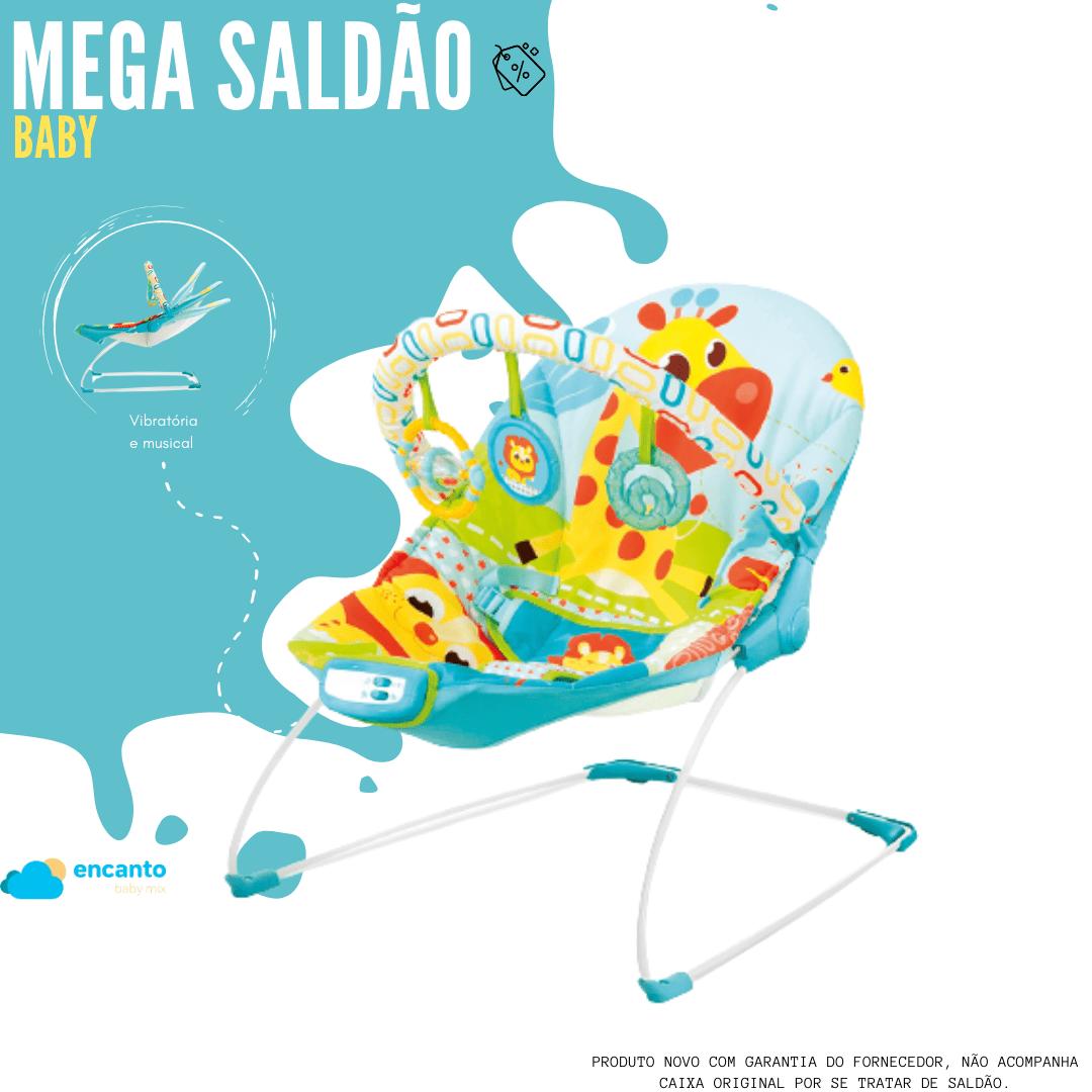 Cadeira Vibratória De Descanso E Musical Sinfonia Girafa Mastela