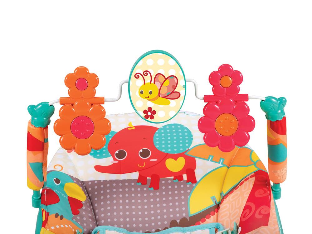 Cadeirinha Descanso Musical E Vibratório 3 Em 1 Mastela 11kg ZOO Abelha  - Encanto Baby