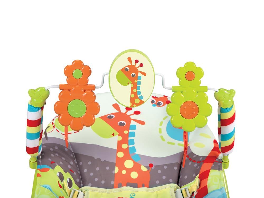 Cadeirinha Descanso Musical E Vibratório 3 Em 1 Mastela 11kg ZOO Floresta Encantada  - Encanto Baby