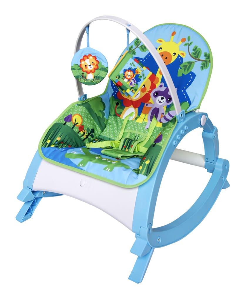 Cadeirinha Musical De Descanso Vibratória Azul Color Baby