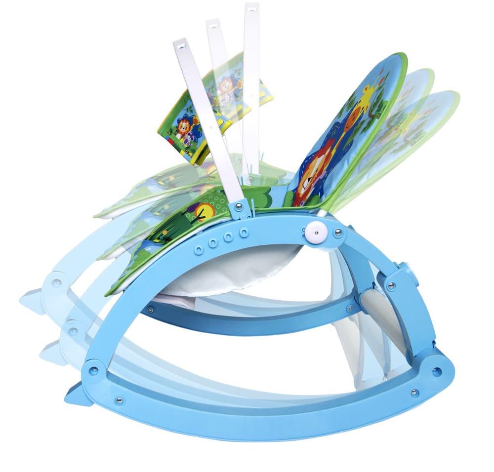 Cadeirinha Musical De Descanso Vibratória Azul Color Baby  - Encanto Baby