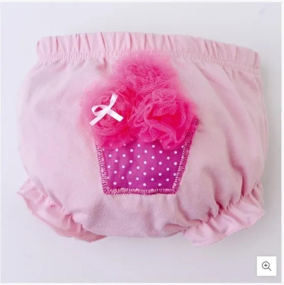 Calcinhas Para Bebê Cupcake Zip Toys Com 3 Unidades  - Encanto Baby
