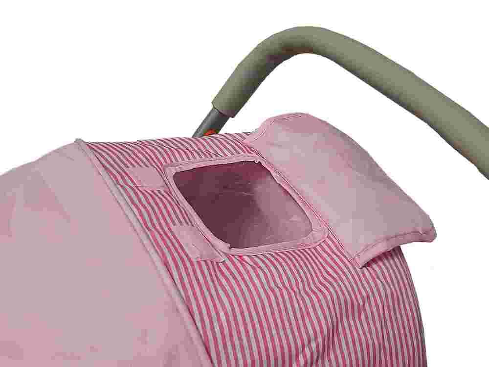Carrinho De Bebê Passeio Confort Alça Reversível Rosa Color Baby  - Encanto Baby