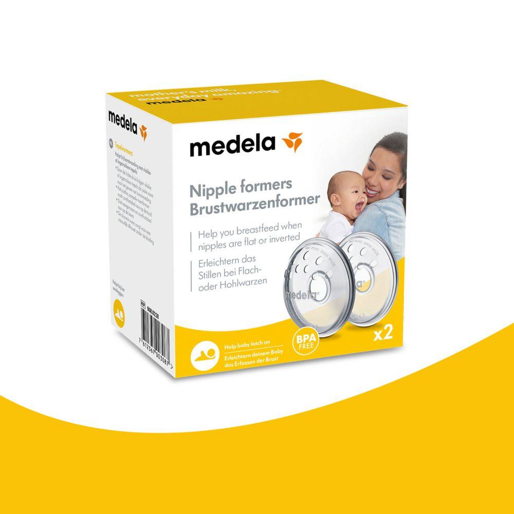 Concha Formadora De Mamilo Com 2 Unidades Medela  - Encanto Baby