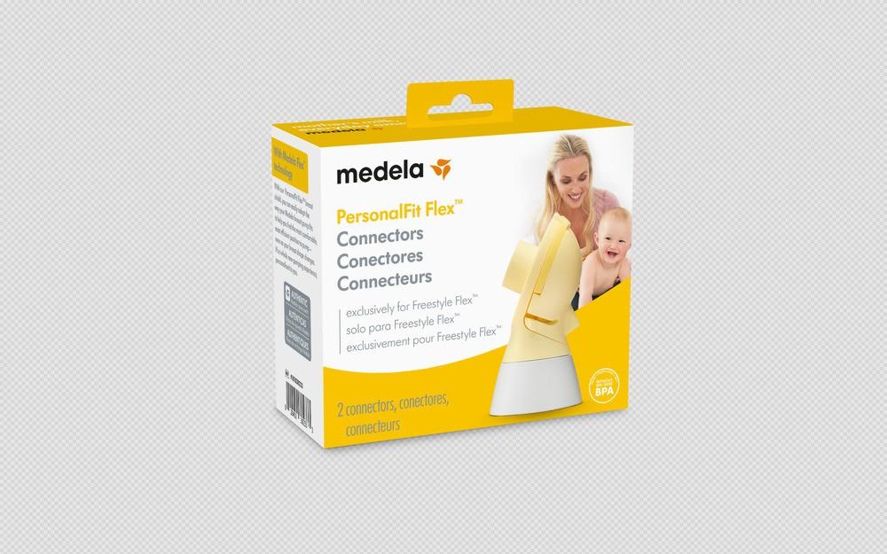 Conector Medela Para Extratores de Leite Swing Flex e Swing Maxi Flex  - Encanto Baby