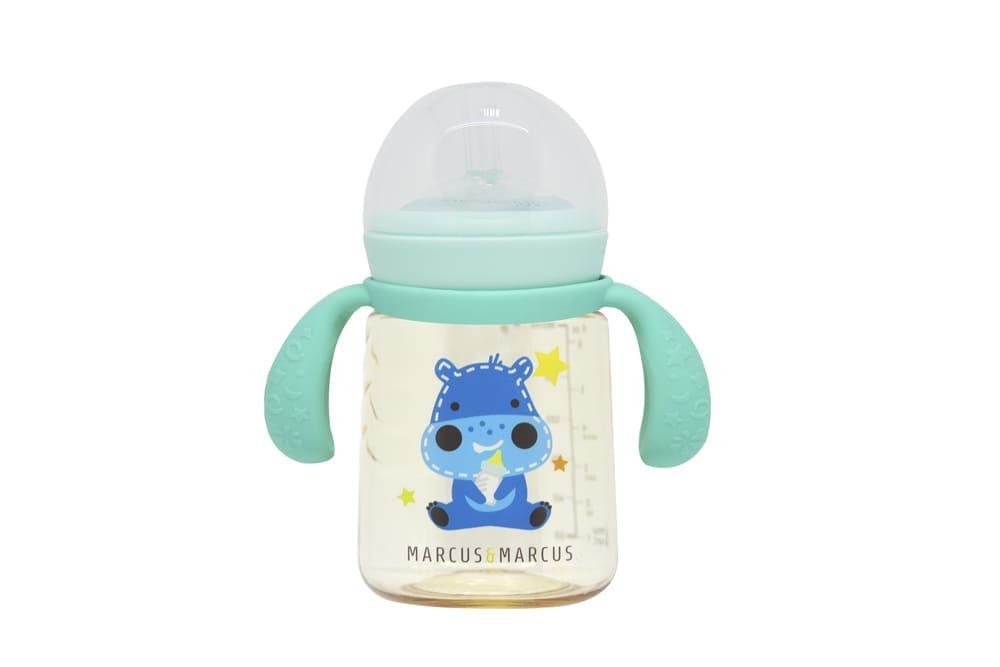 Copo De Treinamento Com Bico De Silicone Marcus & Marcus Hipopótamo  - Encanto Baby