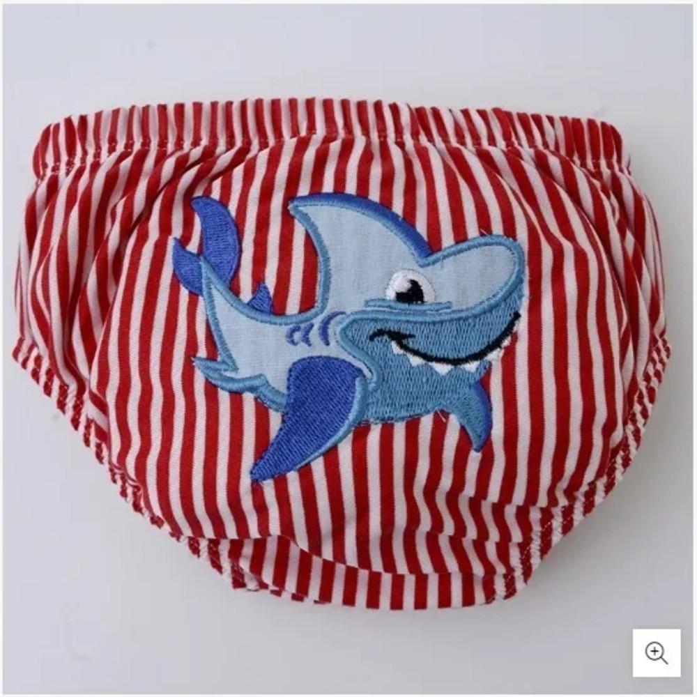 Cueca Para Bebê Aquamarine Zip Toys Animais Marinhos  - Encanto Baby