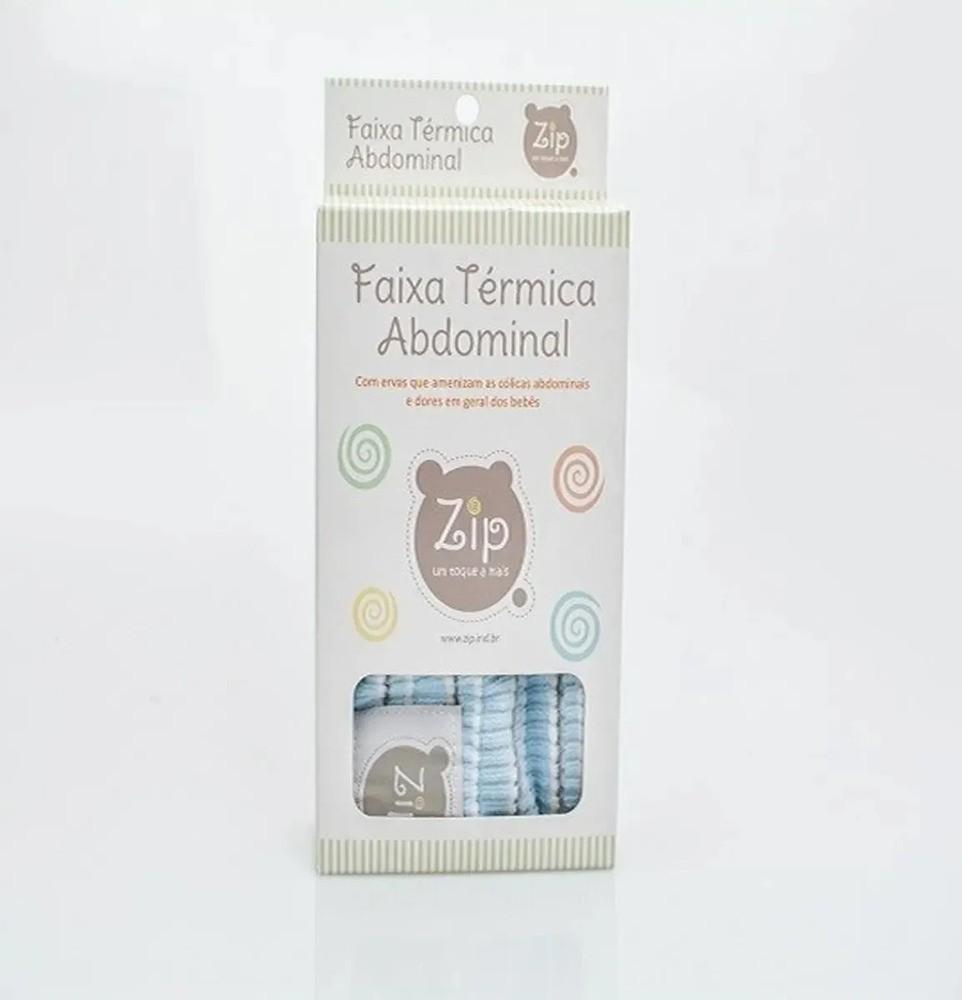 Faixa Térmica Abdominal Para Cólica Do Bebê Ervas Naturais Zip Toys  - Encanto Baby