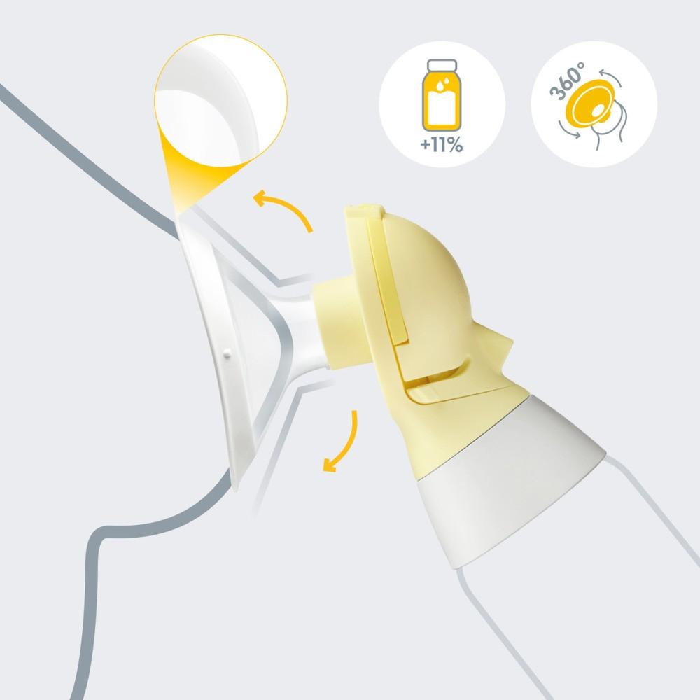 Funil Para Extração De Leite Personalfit Flex (24mm) Medela  - Encanto Baby