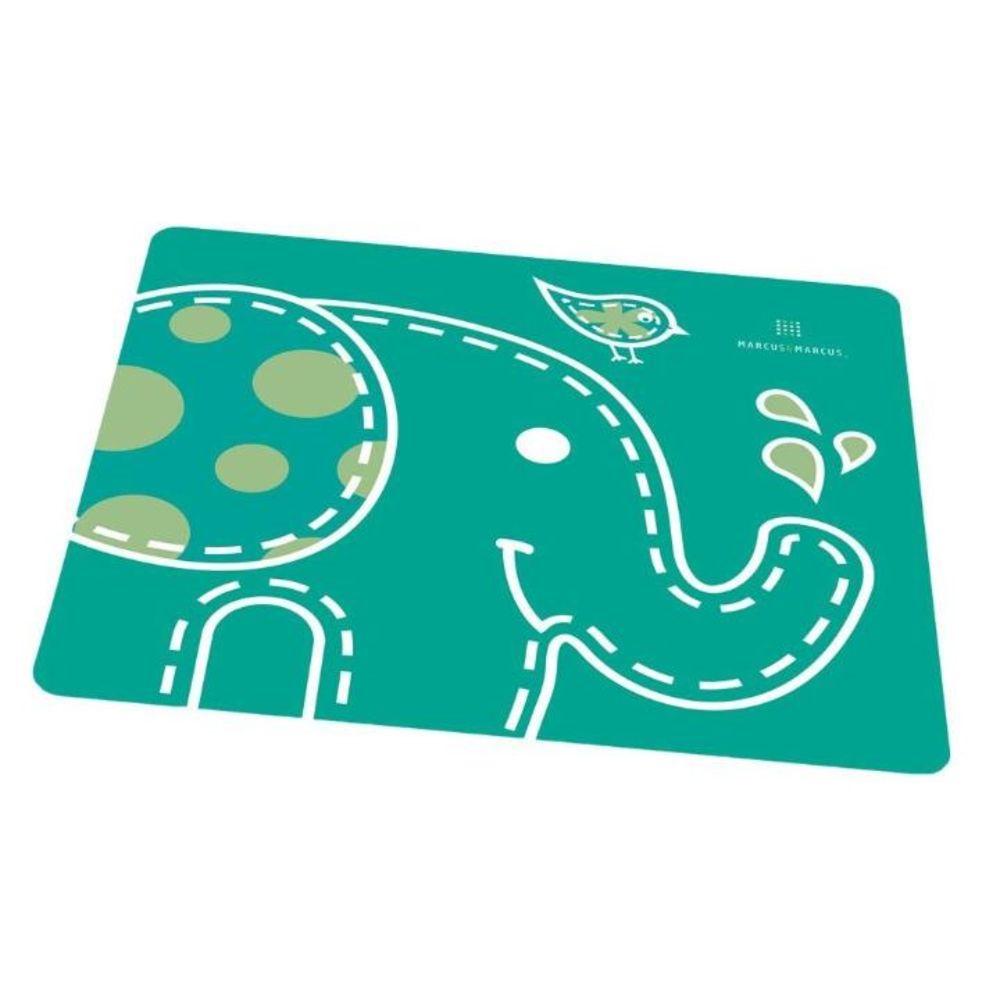 Jogo Americano Marcus&Marcus De Silicone Infantil Elefante