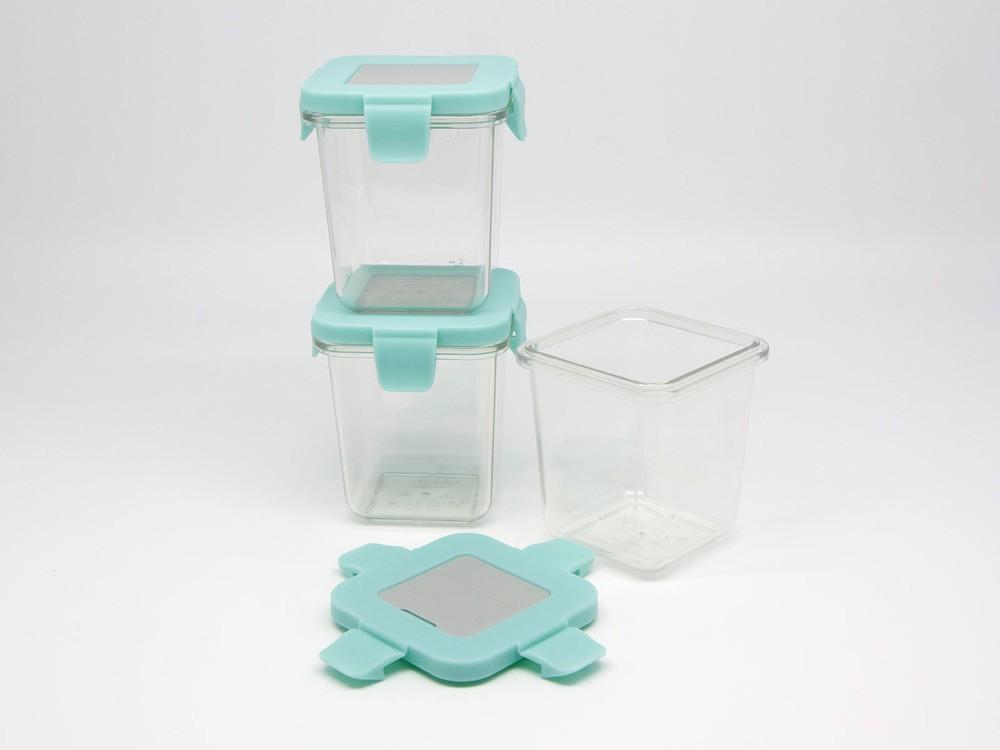Kit Com 3 Potes Em Tritan 240ml - Marcus & Marcus  - Encanto Baby
