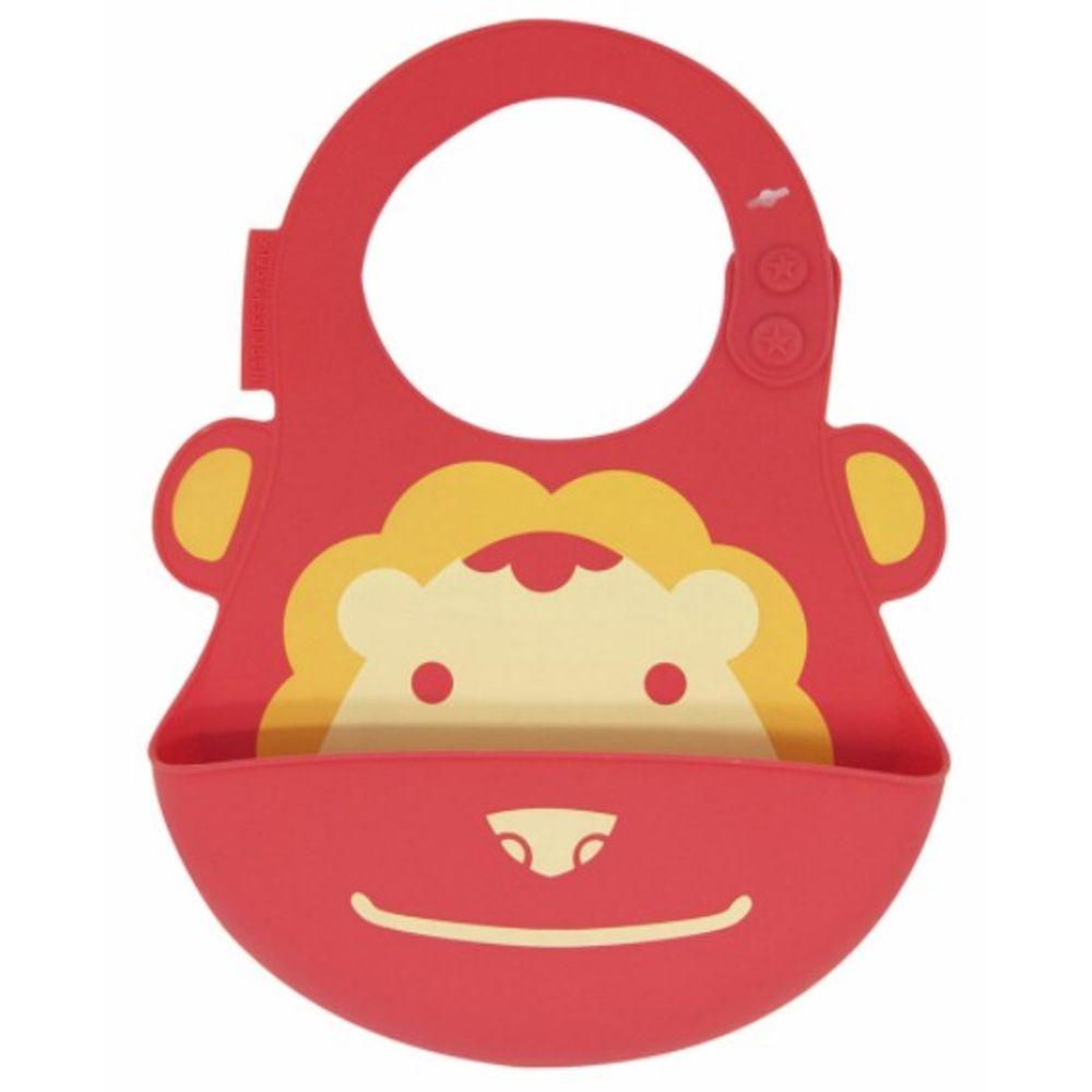 Kit De Alimentação Marcus & Marcus Em Silicone Leãozinho  - Encanto Baby