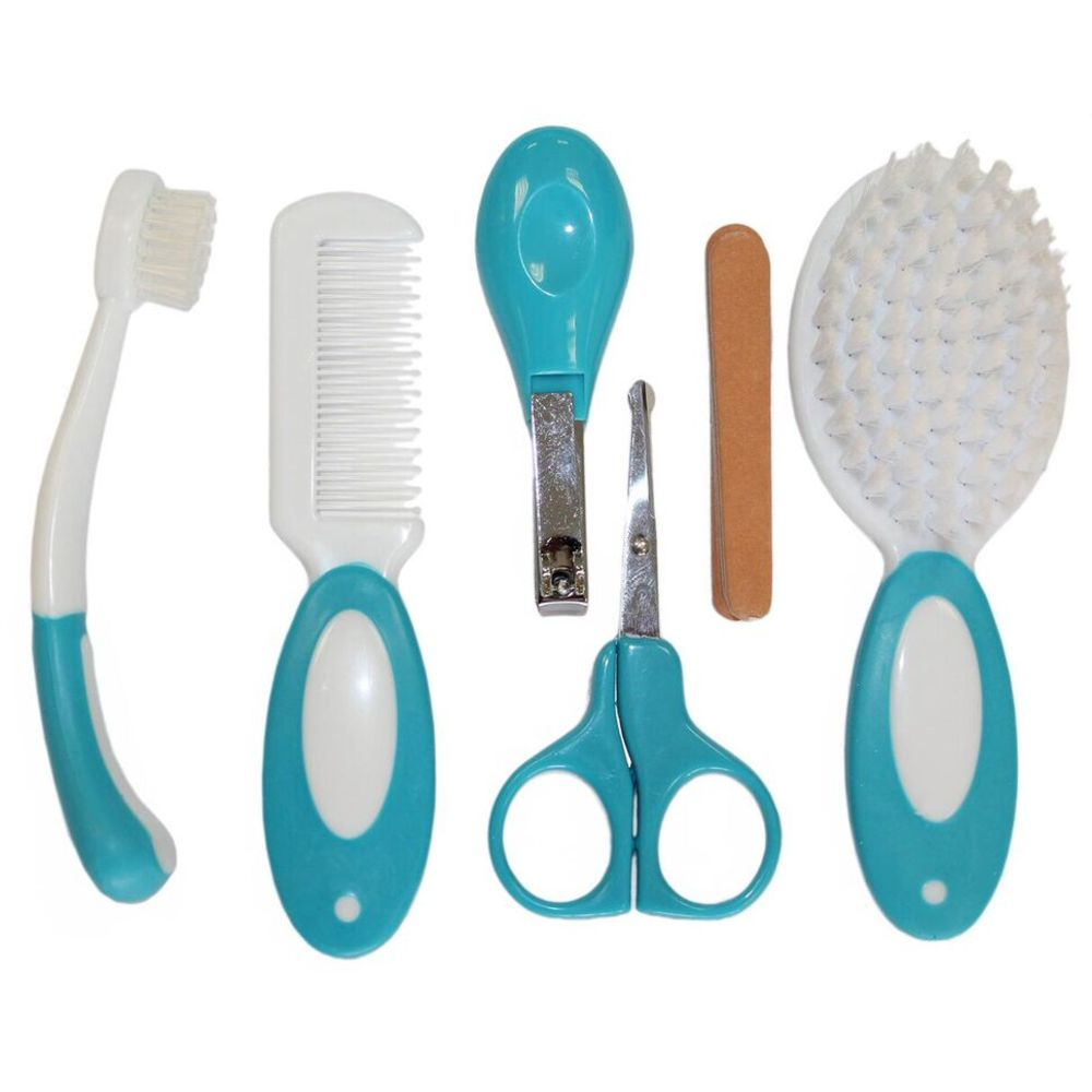 Kit Higiene Ibimboo Infantil Azul  - Encanto Baby