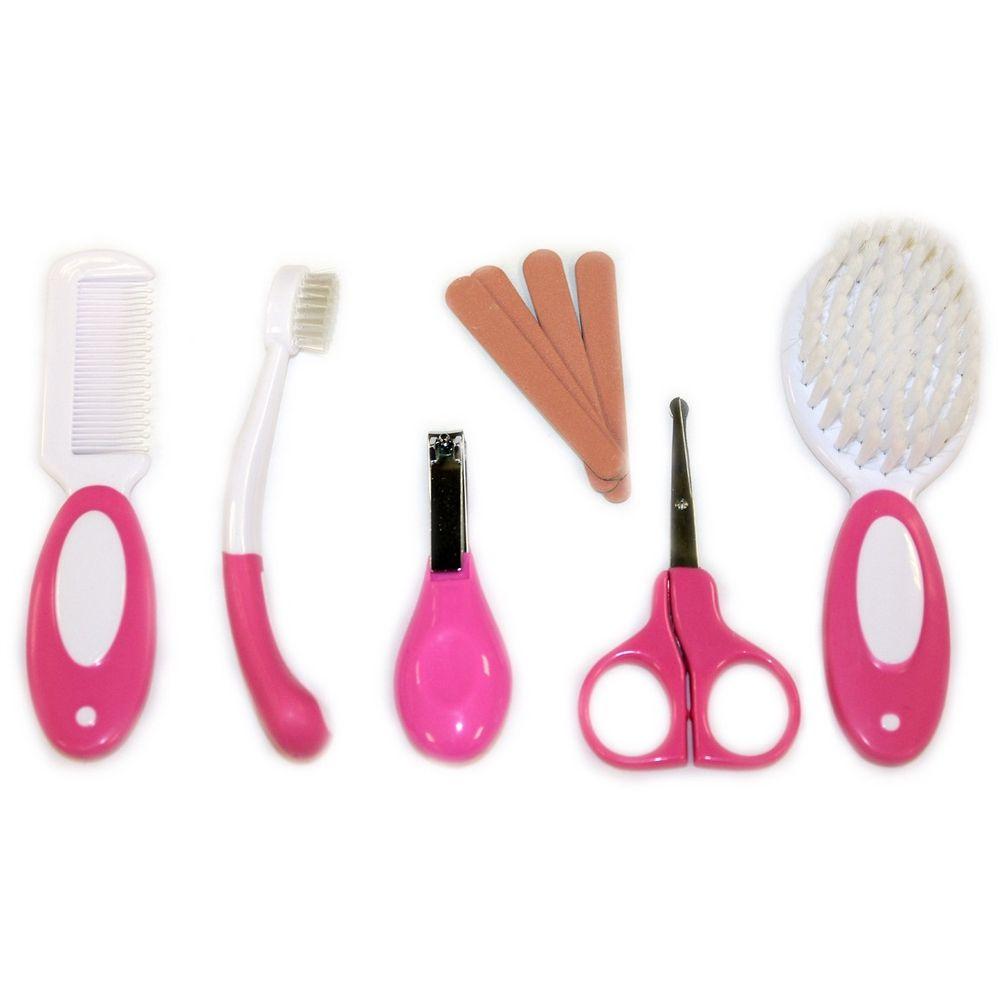 Kit Higiene Ibimboo Infantil Rosa  - Encanto Baby