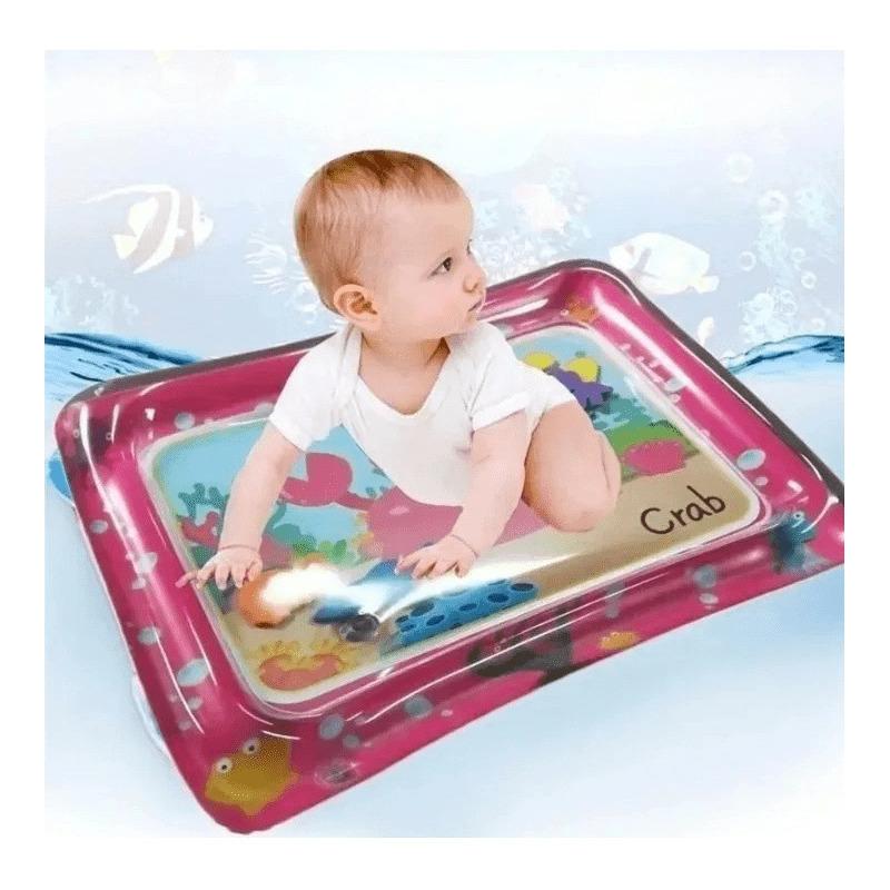 Kit Tapete De Atividades Musical + Tapete De Água Inflável Rosa  - Encanto Baby